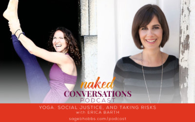 EP5: Yoga, social justice, and taking risks with Erica Barth