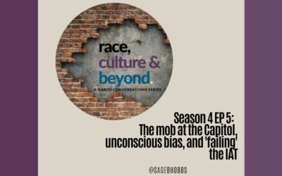 Season 4 EP5:  The mob at the Capitol, unconscious bias, and 'failing' the IAT